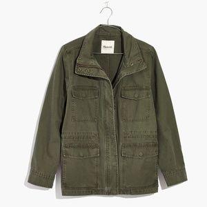 Madewell Womens Surplus Jacket